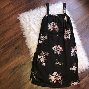 LIZ LANGE maternity XL dress sleeveless black NWOT
